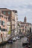 Rio de la Fornace Canal, Venecia Fotos de archivo