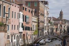 Rio de la Fornace Canal, Venecia Fotos de archivo libres de regalías