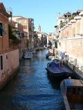Rio de la Fornace. One of beautiful Venetian canal Stock Photo