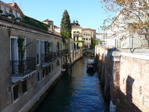 Rio de la salute. One of beautiful Venetian canal Royalty Free Stock Photos