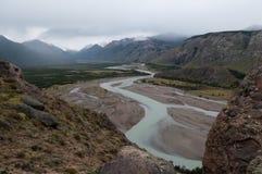Rio De Las Vueltas, Patagonia Royalty Free Stock Images