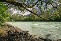 Rio de Lech Fotos de Stock Royalty Free