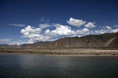 Rio de Lhasa Imagens de Stock