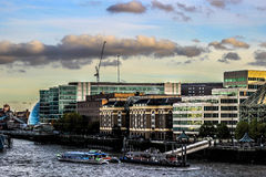 Rio de Londres imagens de stock royalty free