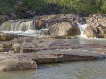 Rio de Macal em Belize fotos de stock