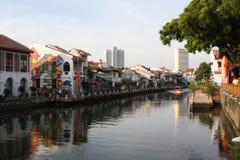 Rio de Melacca Imagem de Stock