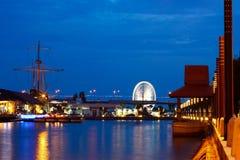 Rio de Melaka Imagem de Stock