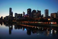 Rio de Melbourne Yarra Fotos de Stock