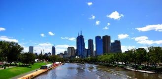 Rio de Melbourne Yarra foto de stock royalty free
