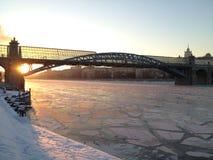 Rio de Moscou Imagem de Stock