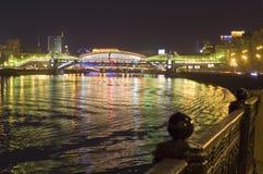 Rio de Moscovo Imagens de Stock