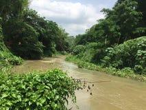 Rio de Muaklek foto de stock
