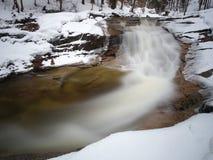 Rio de Mumlava, montanhas de Krkonose, república checa Imagem de Stock Royalty Free