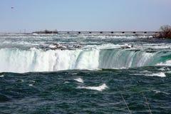 Rio de Niagara Falls em Canadá fotografia de stock royalty free