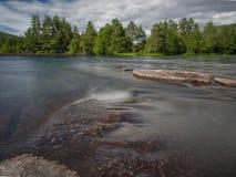 Rio de Noruega fotografia de stock