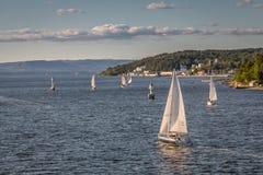 Rio de Oslo Foto de Stock