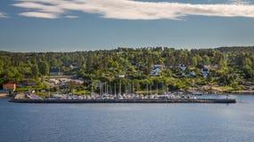 Rio de Oslo Imagem de Stock Royalty Free
