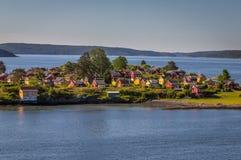 Rio de Oslo Fotos de Stock