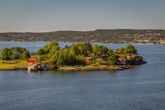 Rio de Oslo Fotos de Stock Royalty Free