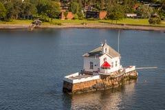Rio de Oslo Imagens de Stock Royalty Free