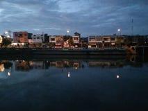 Rio de Pangkajene Fotos de Stock Royalty Free