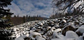Rio de pedra Fotografia de Stock Royalty Free