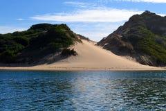 Rio e Sandunes imagens de stock royalty free