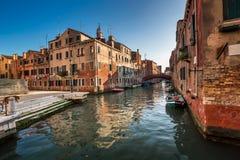 Rio de S. Pantalon Canal in Venice, Italy Stock Photography
