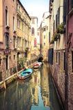 Rio De San Maurizio, jeden wiele mali kanały w Wenecja używał fotografia royalty free