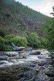 Rio de Sarma no vale autointitulado imagens de stock royalty free