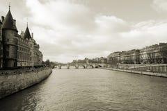Rio de Seine Fotografia de Stock