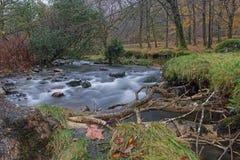Rio de Snowdonia Imagem de Stock