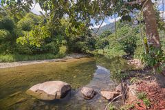 Rio de Sok, Tailândia Imagens de Stock Royalty Free