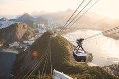 Rio de Sugar Loaf Fotografia de Stock Royalty Free