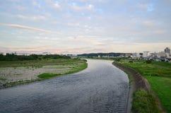 Rio de Tama Fotos de Stock Royalty Free