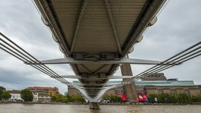 Rio de Tamisa, Londres imagem de stock
