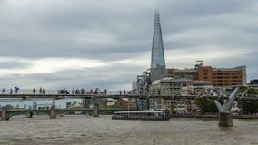 Rio de Tamisa, Londres foto de stock