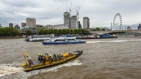Rio de Tamisa, Londres imagem de stock royalty free