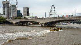 Rio de Tamisa, Londres fotos de stock royalty free