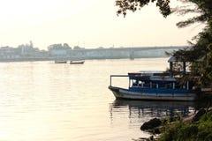 Rio de Tuxpan, México imagem de stock royalty free