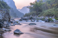 Rio de Venta do La, Chiapas, México Foto de Stock Royalty Free
