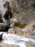 Rio de Verdon que desaparece Fotos de Stock