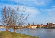 Rio de Vltava Imagens de Stock