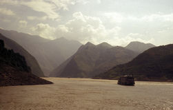 Rio de Yangzi Fotos de Stock