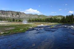 Rio de Yellowstone Imagem de Stock Royalty Free