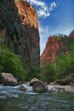 Rio de Zion fotos de stock