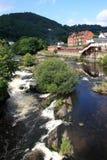 Rio Dee Llangollen Imagem de Stock