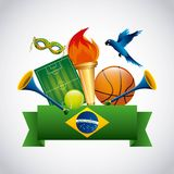 Rio 2016 design. Illustration eps10 graphic Stock Photo