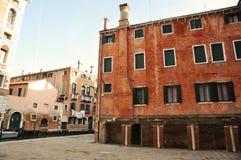 Rio di S. Polo Square, Venice, Italy royalty free stock photo