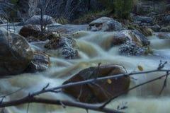 Rio do deserto Imagem de Stock Royalty Free